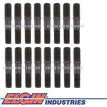 "Flat Guide Plates /& 3//8/"" Rocker Arm Studs sb Chevy 400 383 350 327 305 283"