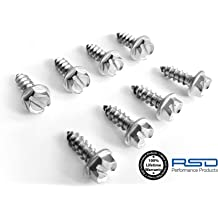 Extended Length Prime Ave Stainless Steel License Plate Screws Audi