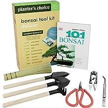 Bonsai Pruner Tools BambooMN Bamboo Rake Leaf Trimmers Plant Garden Set of 3
