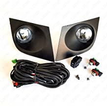 OE Style Clear Lens with Switch, Wire LEDIN Fog Lights for 2004-2007 Nissan Armada Titan