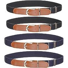 20-36 Inches in Length Lion King HAKUNA MATATA Sunset Oranges//Black Buckle-Down Seatbelt Belt 1.0 Wide