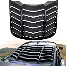 E-cowlboy Rear Window Louvers Hardware Kits Installation Accessories with Double Sided Mounting Tape 3M for Ford Mustang Dodge Challenger Camaro(12pcs)