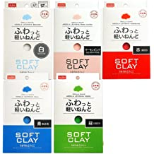 White E008-No.80 Daiso Japan Soft Clay