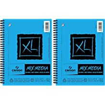 Canson XL Series Mix Media Paper Pad Fine Texture Heavyweight Heavy 100510926