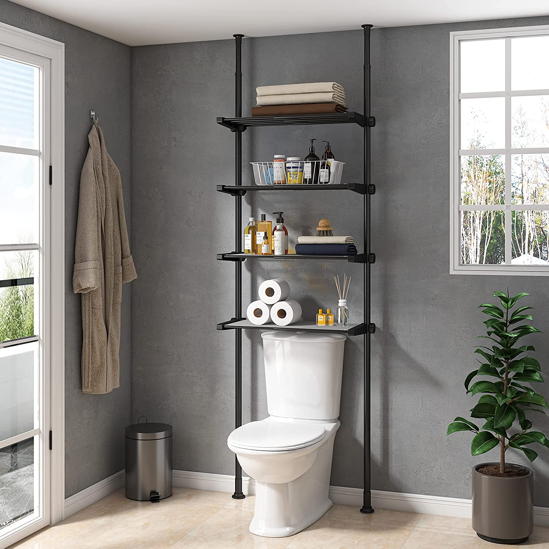 Allzone Bathroom Storage Cabinet, Bathroom Organizer Over Toilet