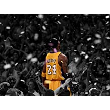 Kobe Bryant Day Remembering Game 7 of the 2010 Lakers-Celtics Finals Poster Unframed 11x14 Inches Canvas Art Print