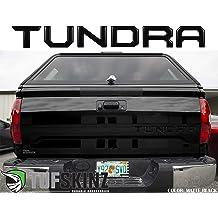 Raised Matte Black TUFSKINZ2016-up Toyota Tacoma Tailgate Inserts