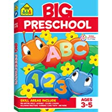 and More Matching School Zone Patterns Numbers Counting School Zone Little Get Ready!/™ Book Series Colors Rhyming Letters Get Ready for Preschool Workbook Ages 3 to 6