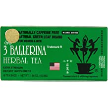 4 boxes x 18 teabags 3 Ballerina Tea Dieters Drink Extra Strength