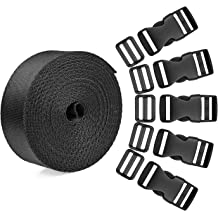 20MM Heavy Strong Belt Buckles Leather Strap Webbing Shinning Roller Pin Buckles 3 Color Total 15pcs DGOL 3//4