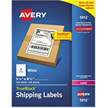 Avery Removable Multi-Purpose Square White Labels 2374 1.5 Inch X 1.5 Inch 90 Labels Per Pack