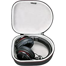 LTGEM Carrying Case for Audio-Technica ATH-M50x Headphones Travel Protective Bag