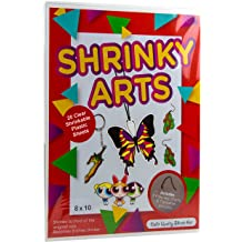 Pencils for Kids Creative Craft Keychains Auihiay 33 PCS Heat Shrink Plastic Sheet Kit Include 10 PCS Shrinky Art Paper Hole Punch