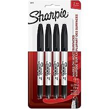 Black Red Chisel Tip Fine Point Sharpie Pro Permanent Marker Assorted Marker