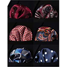 Ecseo Mens Pocket Square Holder//Folder 8 Pocket Square Guard for Men Suits