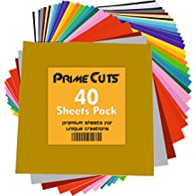 iVinyl Silhouette Cameo /& Crafting Machines 65 Adhesive Sheets 12 x 12 Premium Permanent Self Adhesive Backed Vinyl Sheets 65 Glossy /& Matt Assorted Colors Sheets for Cricut Craft Cutters