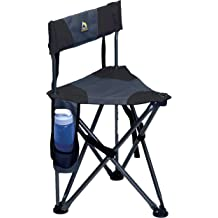 1 Pack TOGRAND Foldable Portable Tripod Stool Folding Chair for Outdoor Activities,Such as Fishing Camping Hunting Hiking,etc