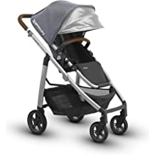 Jordan + Mesa Infant Car Seat Charcoal Melange//Silver//Black Leather Merino Wool Jordan UPPAbaby Cruz V2 Stroller Charcoal Melange