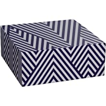 SNS03323 Black /& White Polka Dots 2.5 x 5.5 x 8.5 Snap-N-Store Supply Box