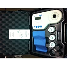 192 mm Length Milwaukee Instruments Mi415 Turbidity Meter with FTU Scale 104 mm Width 0 Degree C to 50 Degree C Temperature Range 52 mm Height
