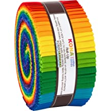 20 Strips Kona Cotton Indigo 2.5-inch Pre Cut Quilting Strips Jelly Roll Fabric