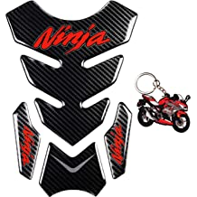 Anti Slip sticker,Gas Tank Pad REVSOSTAR Motorcycle Tank Side Traction Pad Traction Side,R6 Keychain and Fuel Knee Grip Decal for R6 2008-2015 Red